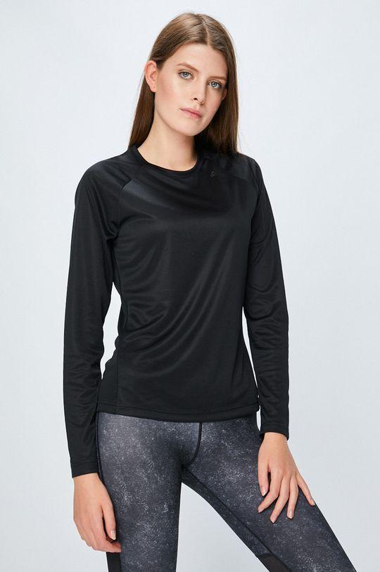черен adidas Performance - Блуза Жіночий