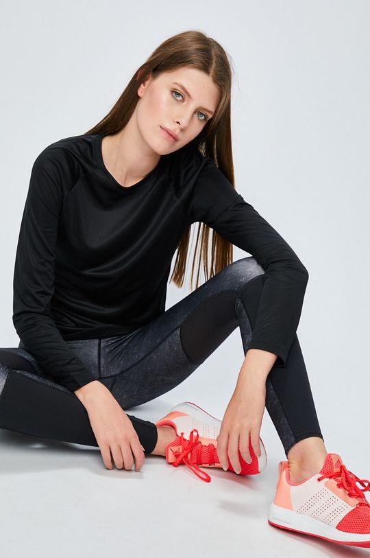 черен adidas Performance - Блуза