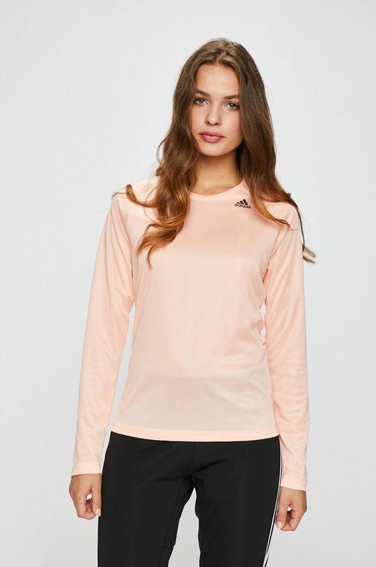 розов adidas Performance - Блуза Жіночий