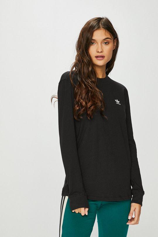 черен adidas Originals - Блуза Жіночий