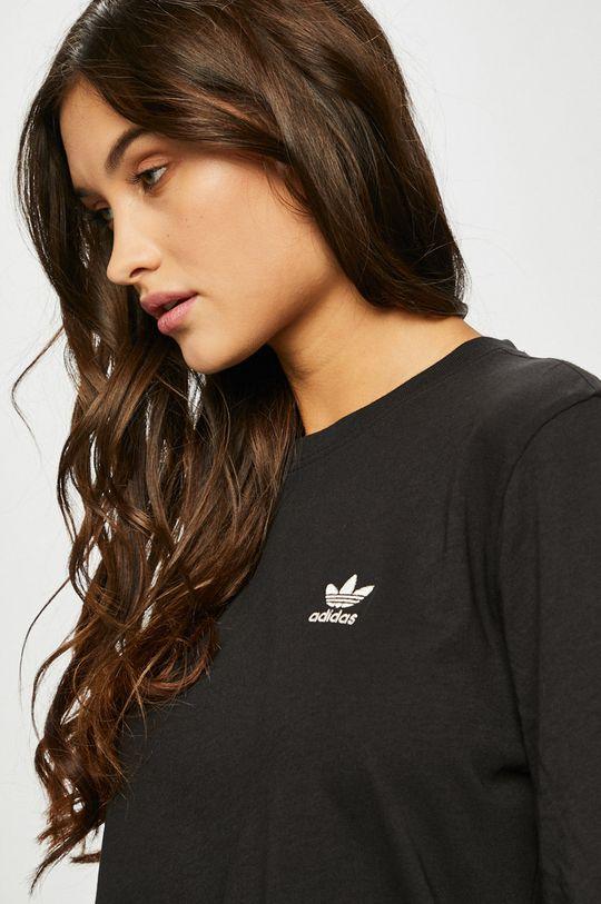 черен adidas Originals - Блуза