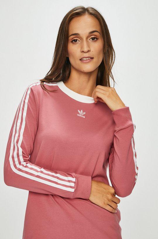 розов adidas Originals - Блуза