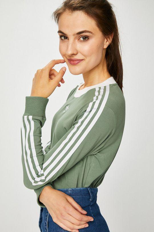 светла маслина adidas Originals - Блуза