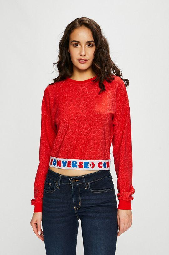 rosu Converse - Bluza