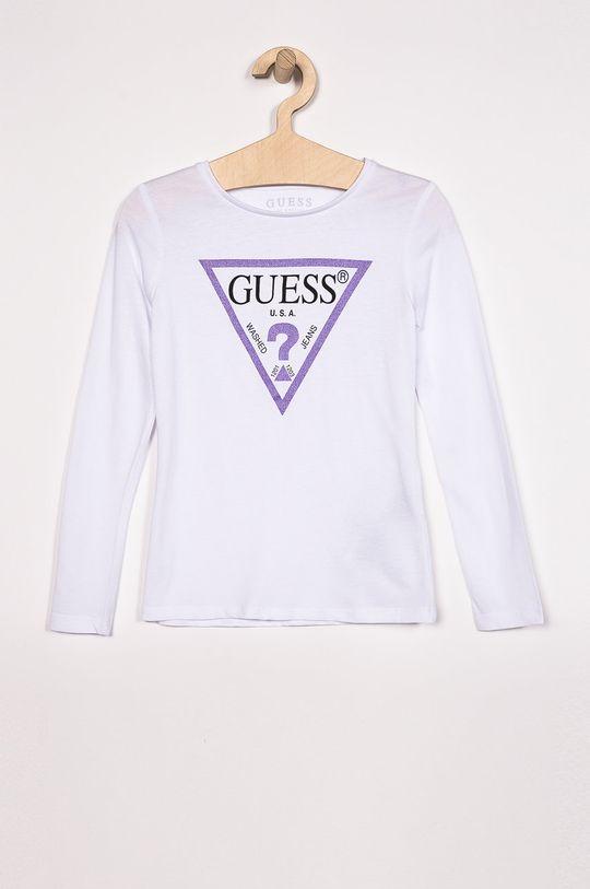 alb Guess Jeans - Bluza copii 118-175 cm De fete