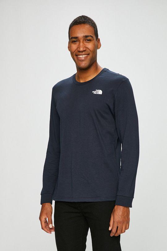 tmavomodrá The North Face - Pánske tričko s dlhým rukávom Pánsky