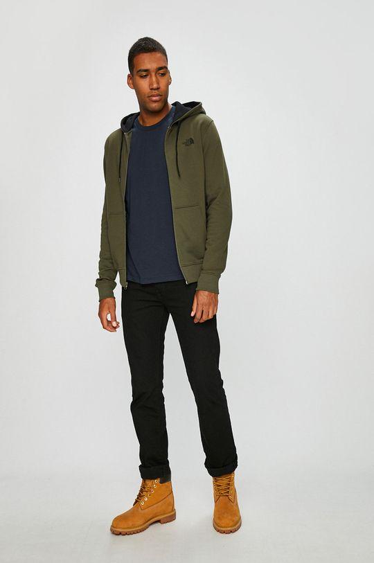 The North Face - Pánske tričko s dlhým rukávom tmavomodrá
