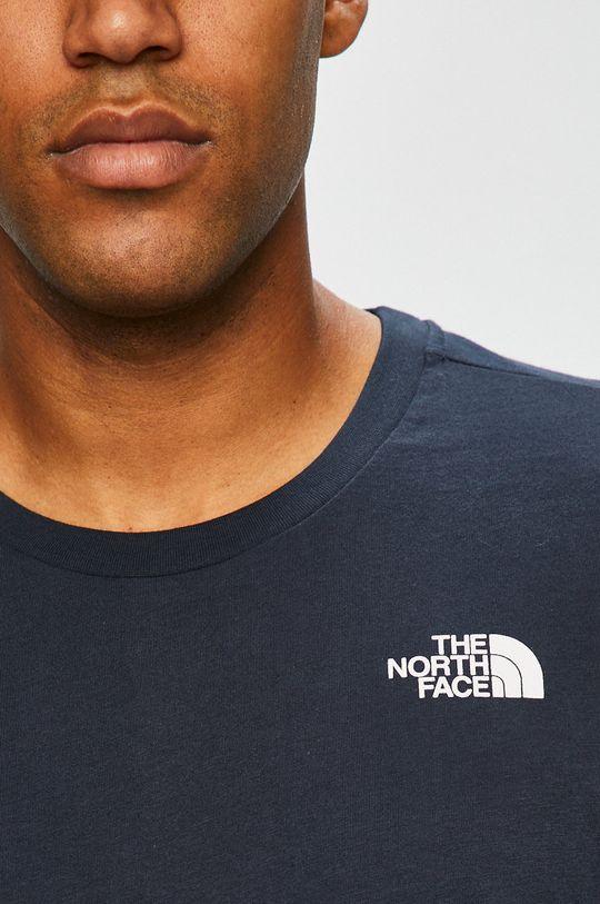 tmavomodrá The North Face - Pánske tričko s dlhým rukávom