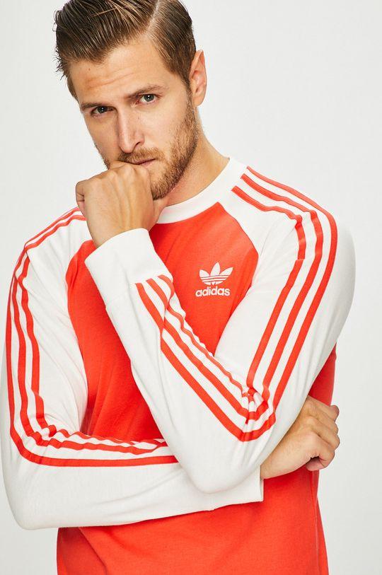 мандарина adidas Originals - Блуза с дълъг ръкав Чоловічий