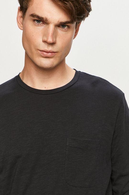 tmavomodrá Produkt by Jack & Jones - Tričko s dlhým rukávom