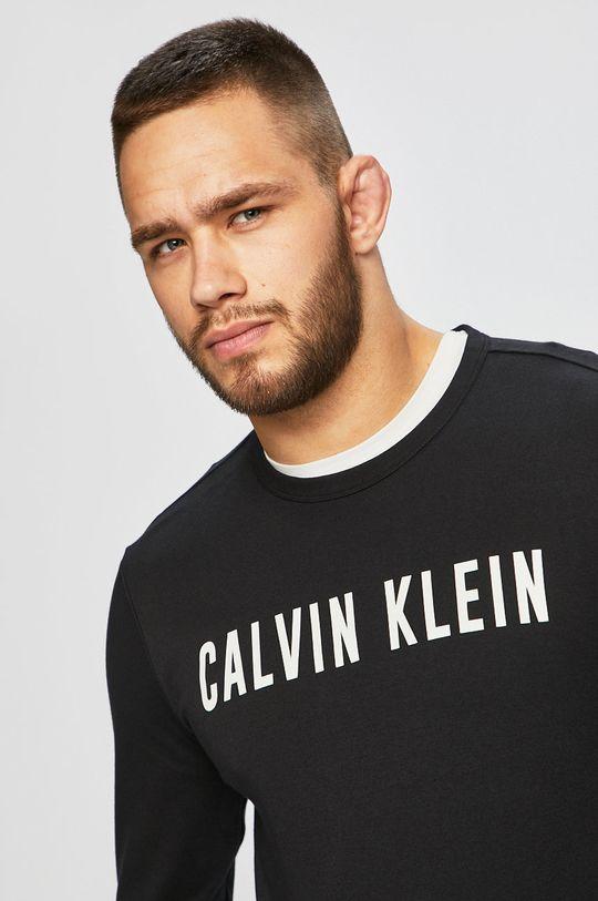 černá Calvin Klein Performance - Tričko s dlouhým rukávem