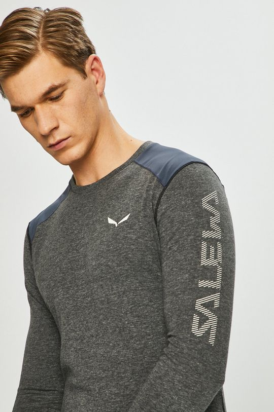 Salewa - Tričko s dlouhým rukávem Hlavní materiál: 25% Bavlna, 75% Polyester Jiné materiály: 16% Elastan, 84% Polyamid