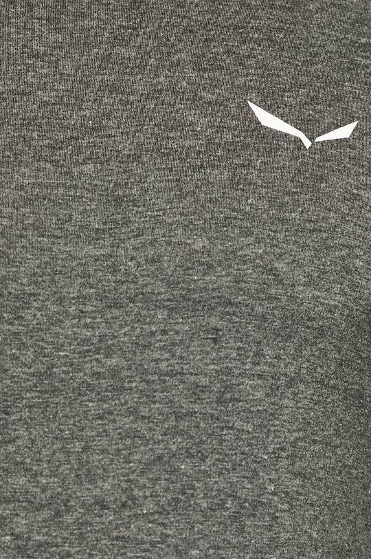 šedá Salewa - Tričko s dlouhým rukávem