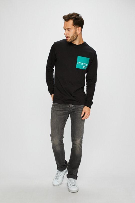 adidas Originals - Блуза с дълъг ръкав черен