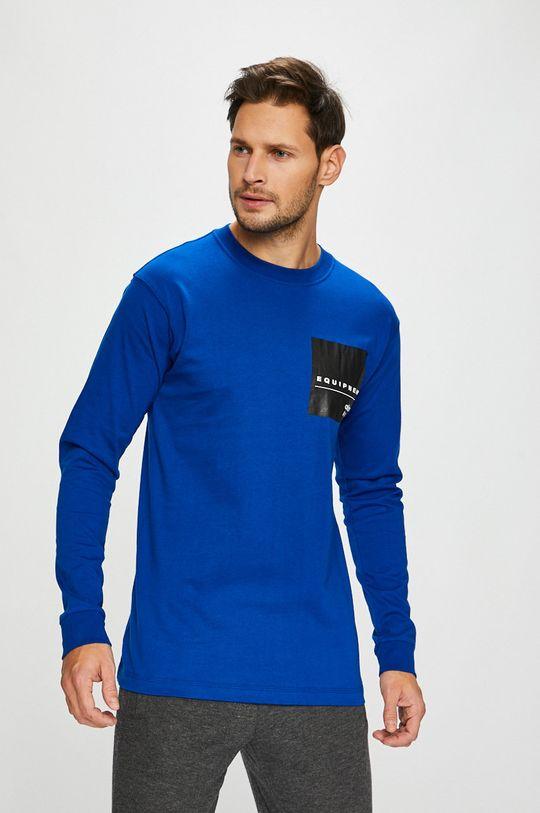 modrá adidas Originals - Pánske tričko Pánsky