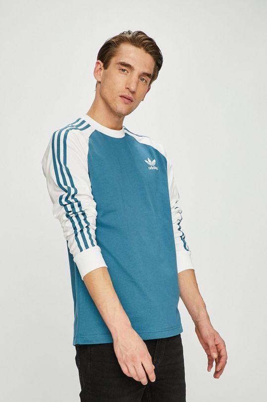 син adidas Originals - Блуза с дълъг ръкав Чоловічий