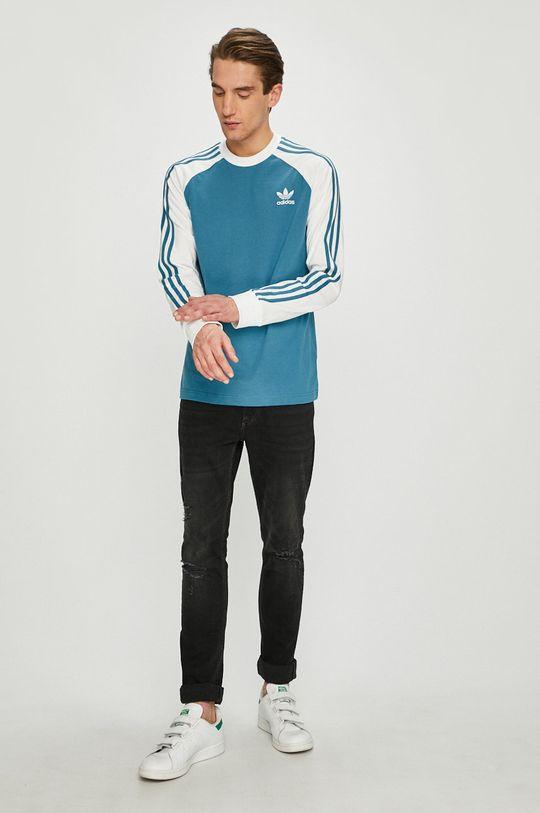 adidas Originals - Блуза с дълъг ръкав син