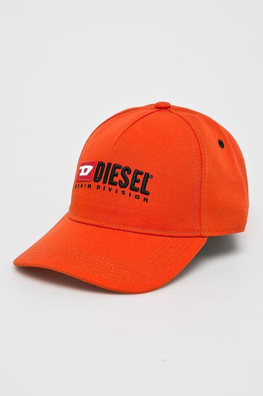 oranžová Diesel - Čepice Dámský