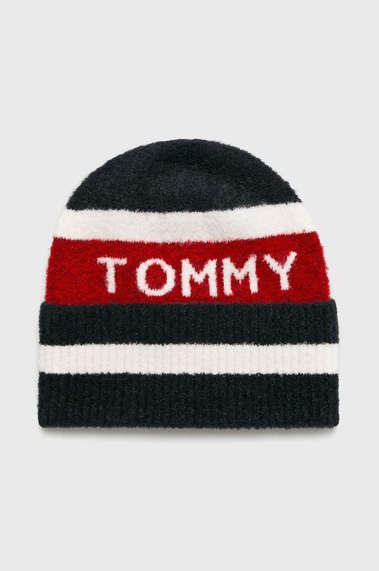 granatowy Tommy Hilfiger - Czapka Damski