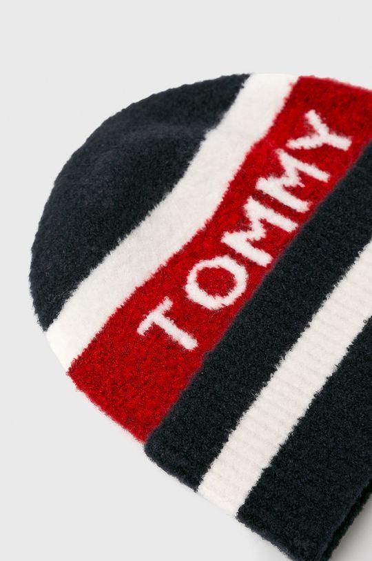 Tommy Hilfiger - Czapka 43 % Akryl, 2 % Elastan, 30 % Poliamid, 25 % Wełna
