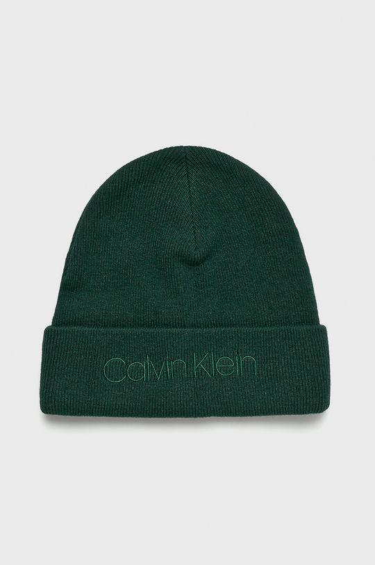 zelená Calvin Klein - Čepice Pánský