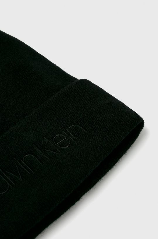 Calvin Klein - Čepice  10% Kašmír, 20% Polyamid, 40% Vlna, 30% Viskóza