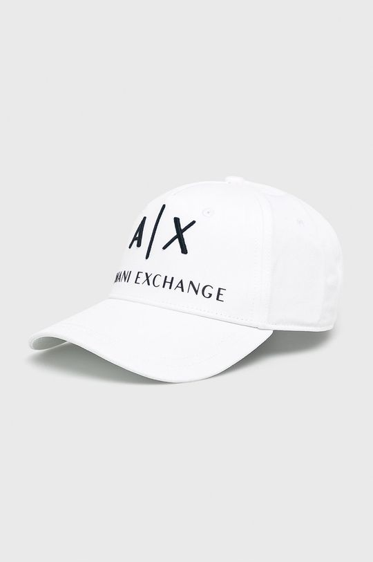 biela Armani Exchange - Čiapka Pánsky