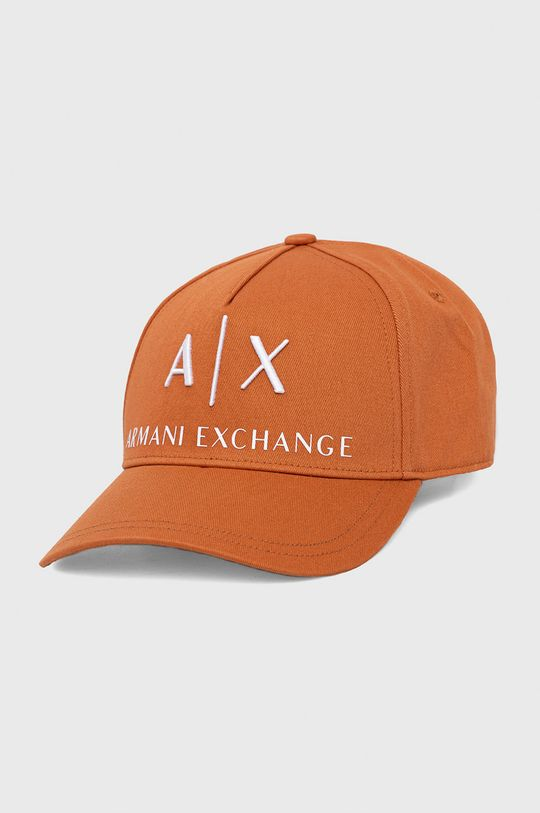 pomarańczowy Armani Exchange - Czapka Męski