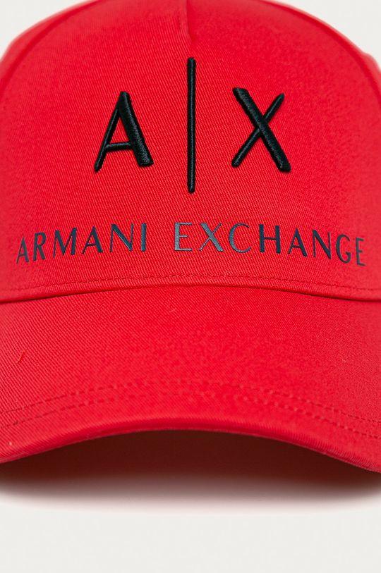 Armani Exchange - Czapka czerwony