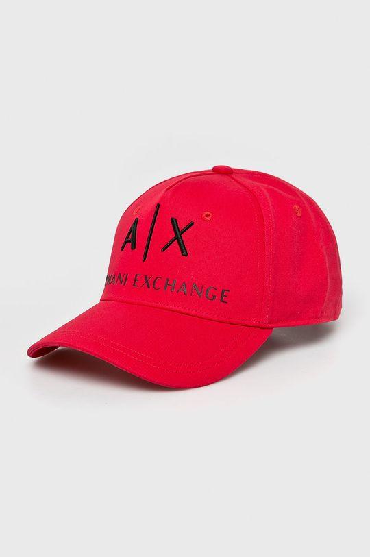 červená Armani Exchange - Čiapka Pánsky