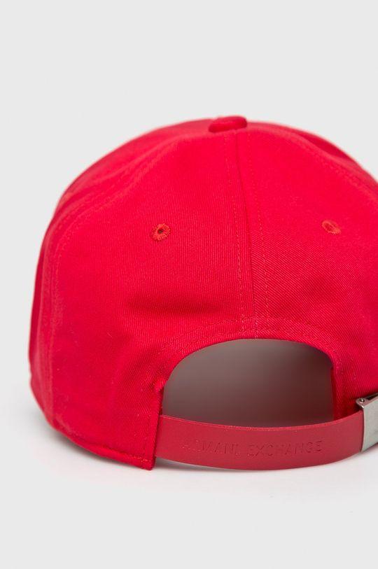 Armani Exchange - Čiapka červená