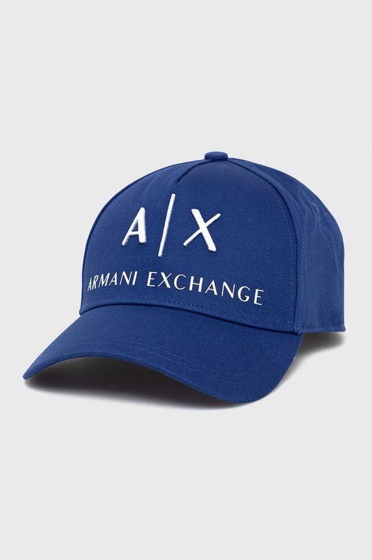 niebieski Armani Exchange - Czapka Męski