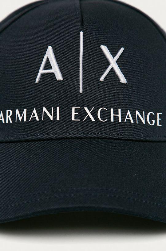 Armani Exchange - Czapka granatowy