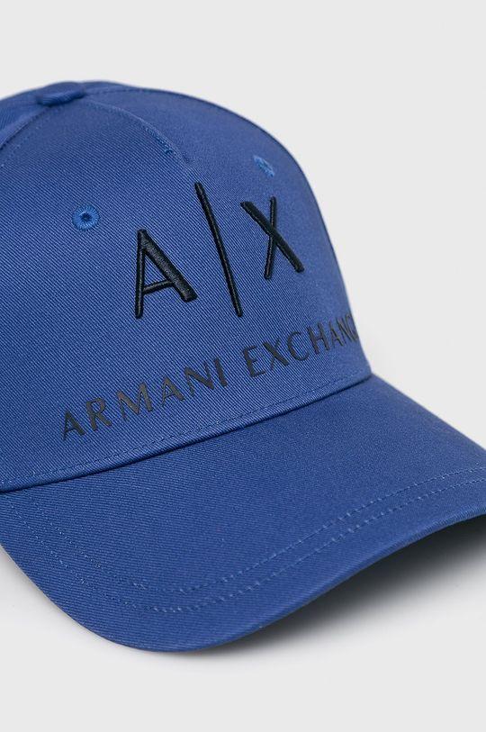 Armani Exchange - Caciula  Captuseala: 100% Bumbac Materialul de baza: 100% Bumbac Insertiile: 100% Piele naturala