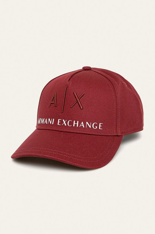 gaštanová Armani Exchange - Čiapka Pánsky