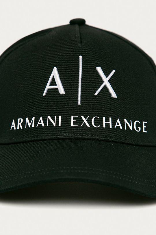 Armani Exchange - Čepice černá