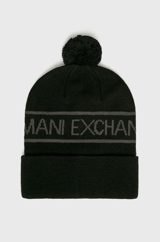 čierna Armani Exchange - Čiapka Pánsky