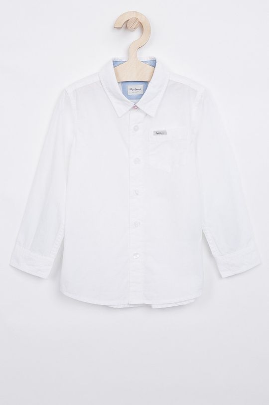 biela Pepe Jeans - Detská košeľa Nate 92-180 cm Chlapčenský