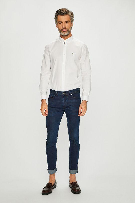 Lacoste - Koszula 100 % Bawełna,