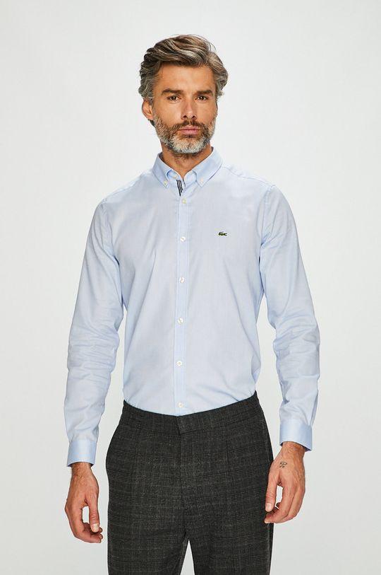niebieski Lacoste - Koszula Męski