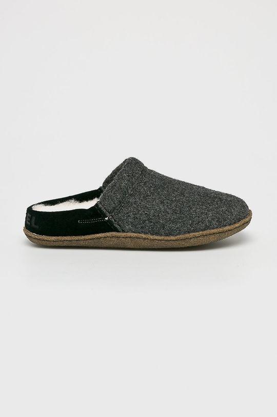 čierna Sorel - Papuče Dámsky