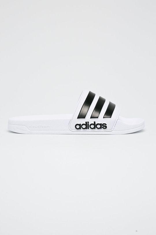 biały adidas - Klapki Adilette Shower Męski