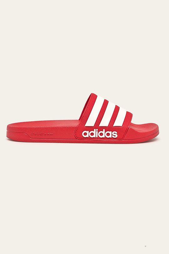 červená adidas Performance - Šľapky Pánsky