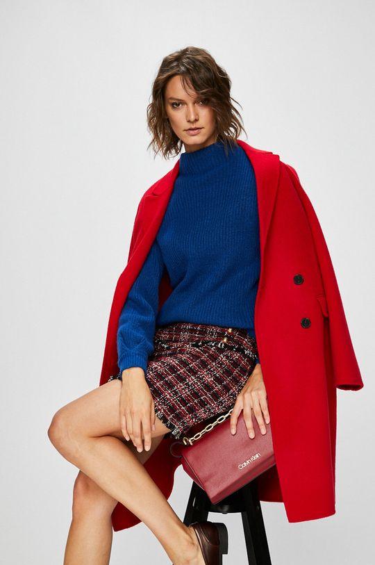 ostrá červená Pinko - Kabát Dámský