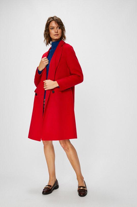 Pinko - Kabát ostrá červená