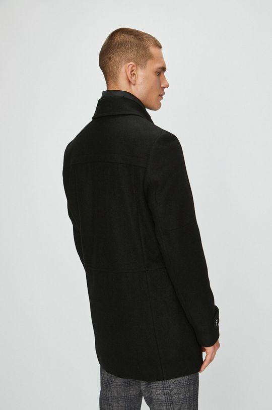 s.Oliver Black Label - Kabát <p>Podšívka: 52% Polyester, 48% Viskóza Základná látka: 3% Polyakryl, 3% Polyamid, 32% Polyester, 62% Vlna 1. látka: 100% Polyester</p>