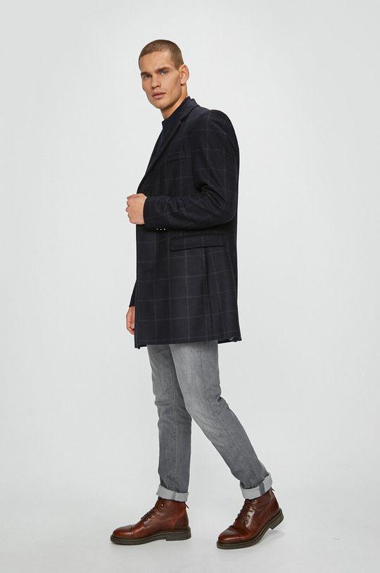 s.Oliver Black Label - Kabát <p>Podšívka: 52% Polyester, 48% Viskóza Základná látka: 5% Polyakryl, 10% Polyamid, 30% Polyester, 55% Vlna</p>