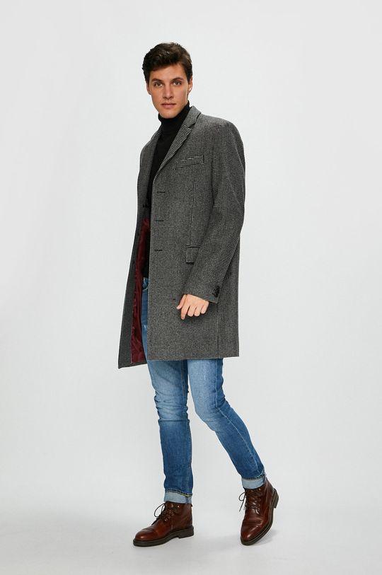 Tommy Hilfiger Tailored - Palton 30% Nailon, 65% Lana, 5% Alt material