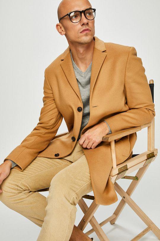 písková Calvin Klein - Kabát Pánský