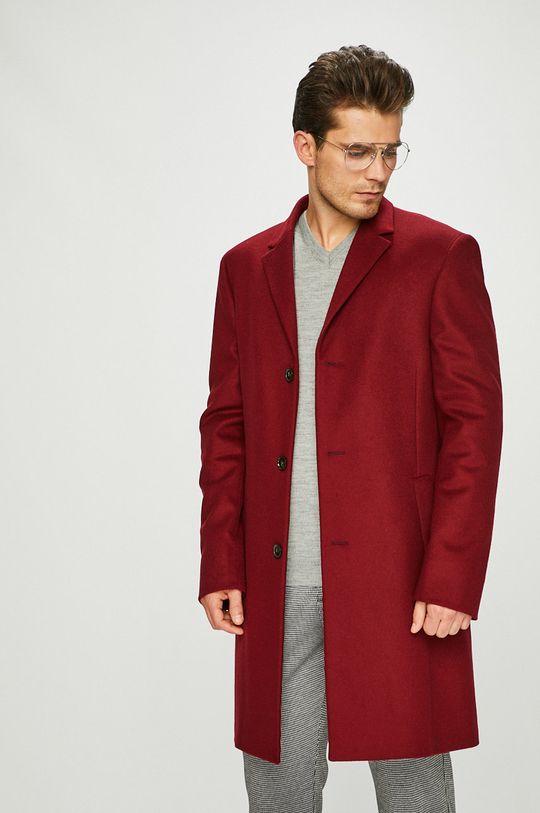 kaštanová Calvin Klein - Kabát
